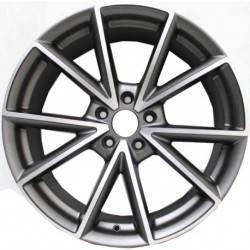 RS4 8.0x18 Satin Grey Polish