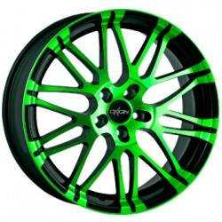 Oxigin oxrock 14 8.5x20 Neon Green Polish