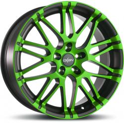 Oxigin oxrock 14 8.5x19 Neon Green Polish Matt
