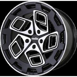 Radi8 Cm9 8.5x20 Black Machined Face