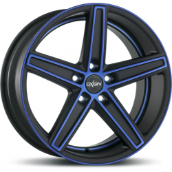 Oxigin 18 concave 7.5x17 Blue Polish Matt