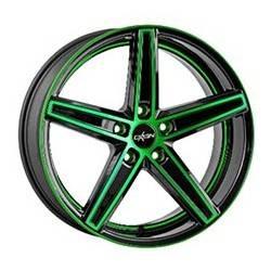 Oxigin 18 Concave 12.0x20 Neon Green Polish