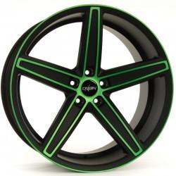Oxigin 18 Concave 10.5x21 Neon Green Polish Matt