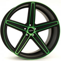 Oxigin 18 Concave 10.0x22 Neon Green Polish Matt