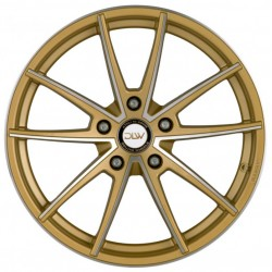 Dlw Manay 9.5x19 Gold Polish