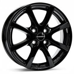 Borbet LV4 5.5x15 Black Glossy