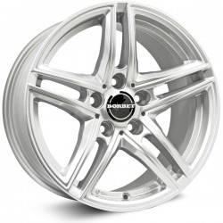 Borbet XR 7.5x17 Brilliant Silver