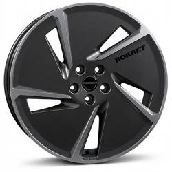 Borbet AE 7.5x20 Mistral Anthracite Glossy