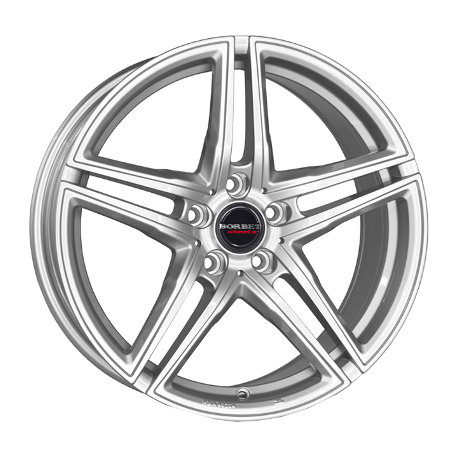 Borbet XRT 8.0x17 silver