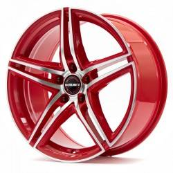 Borbet XRT 8.0x18 Red Polish