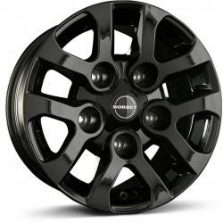 Borbet LD 8.0x16 Black Glossy
