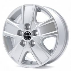 Borbet CWG 6.0x16 Crystal Silver