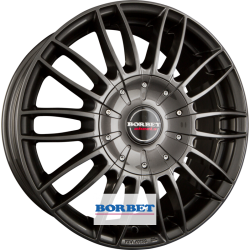 Borbet cw3 7.5x18 Anthracite Glossy