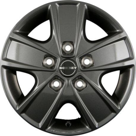 Borbet CWG 6.0x16 Anthracite Glossy
