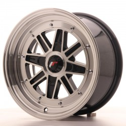 Japan JR31 7.5x15 Black Machined