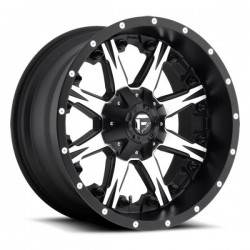 Fuel Nutz D541 10.0x20 Black Machined