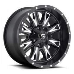 Fuel Throttle D513 9.0x18 Black Milled