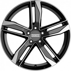 Fondmetal Hexis 8.5x20 Black Machined