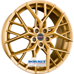 Borbet BY 8.0x20 Gold Matt