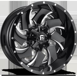 Fuel Cleaver D574 9.0x17 Black