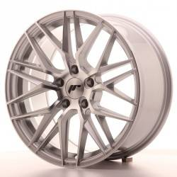 Japan JR28 8.0x17 Silver Machined