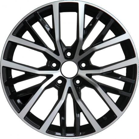 Polo GTI 7.5x17 Black Polish