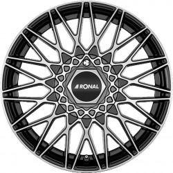 Ronal LSX 7.0x16  Jetblack Diamond Cut