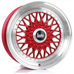 Bola TX09 8.0x17 Candy Red Polished Lip