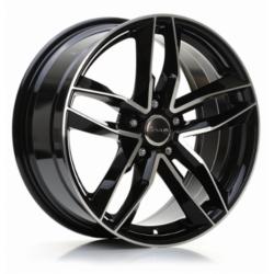 Avus Racing AF16 7.5x17 Black Polish