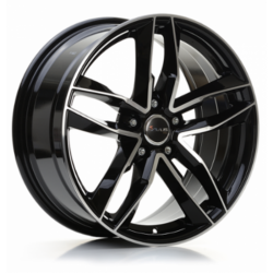 Avus Racing AF16 9.0x20 Black Polish