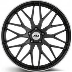 Aez Crest Dark 8.0x18 Gunmetal Matt Polished