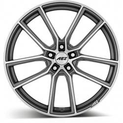 Aez Raise 8.0x19 Gunmetal Polished