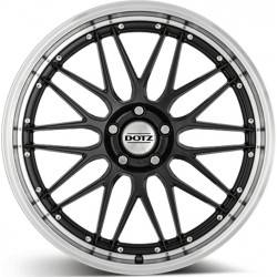 Dotz Revvo Dark 7.5x17 Gunmetal Polished Lip