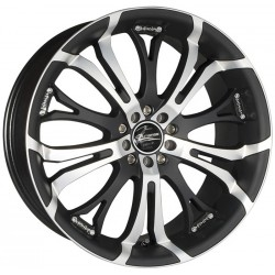 Barracuda Tzunamee 8.0x18 Matt Black Polished