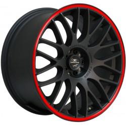 Barracuda Karizzma 10.5x20 Matt Black Puresports Colour Trim