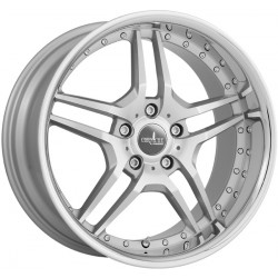 Corspeed Vegas 9.5x19 Bright Silver Polished Inox Lip