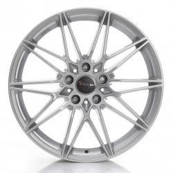 Avus Racing AC-MB5 8.0x19 Silver