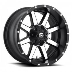 Fuel Maverick D537 9.5x22 Black Machined