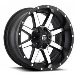 Fuel Maverick D537 10.0x22 Black Machined