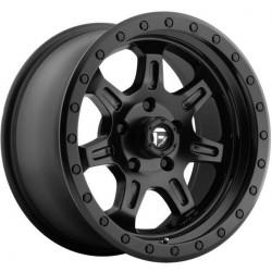Fuel JM2 D572 8.5x17 Black Matte