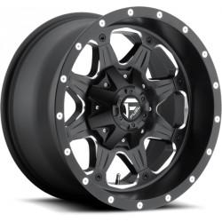 Fuel Boost D534 9.0x18 Black Milled