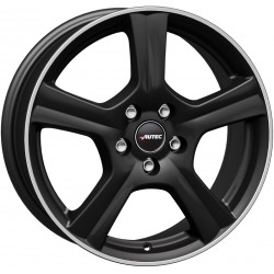 Autec Ionik 6.5x17 Black Matt Polished