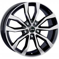 Autec Uteca 8.0x18 Black Polished