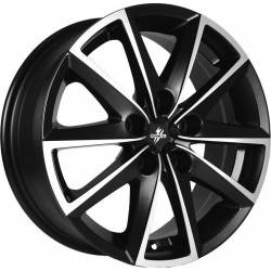 Fondmetal 7600 7.0x16 Black Machined