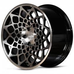 Radi8 R8B12 9.5x18 Black Mach