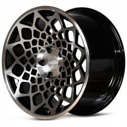 Radi8 R8B12 10.0x19 Black Mach