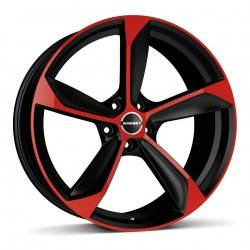 Borbet S 8.5x19 Black Red