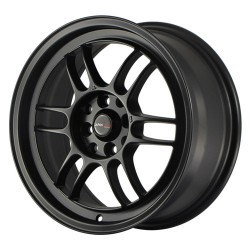 Japan JR7 7.0x15 Matt Black